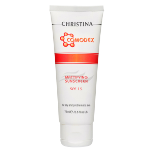 Mattifying Sunscreen SPF15 for Oily and Problem Skin-1