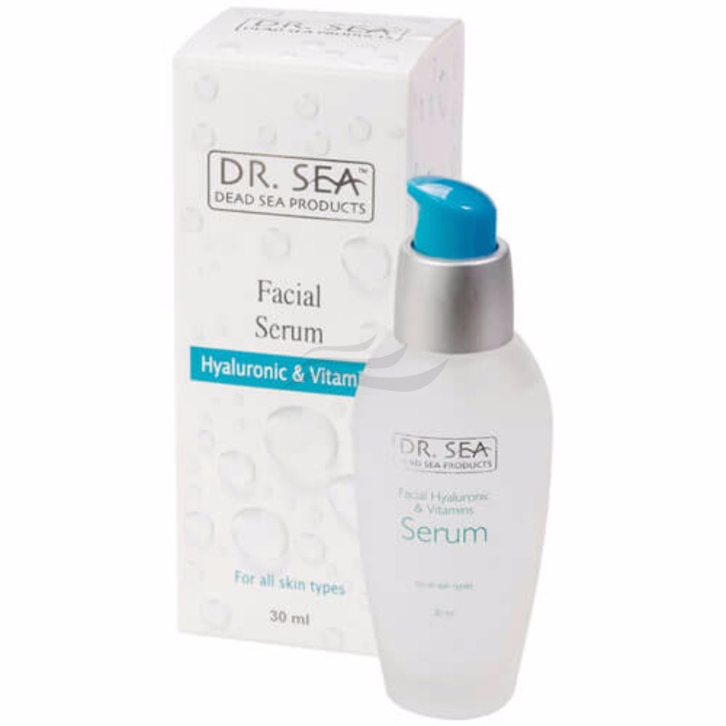 Facial Serum with Hyaluronic Acid and Vitamins-1