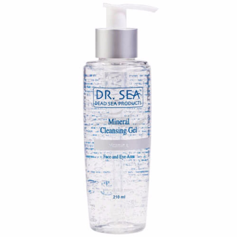 Mineral Facial & Eye Cleansing Gel with Vitamin E-1
