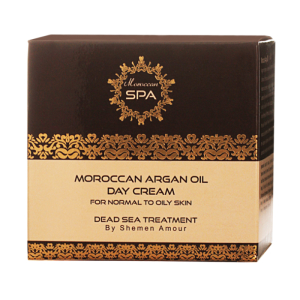 Moroccan Argan Oil Day Cream for Normal to Oily Skin-1